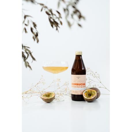 Kombucha Fruit de la Passion & Chanvre Bio 330ml