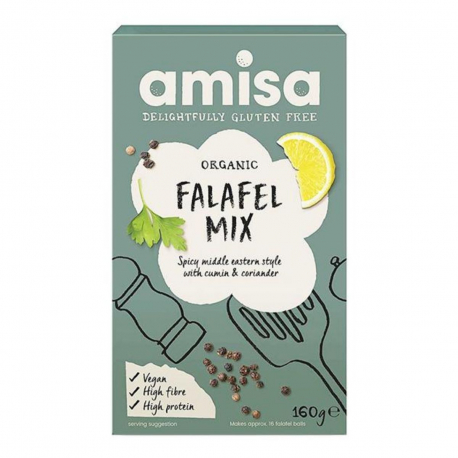 Amisa - Amisa Falafel Mix Organic - Gluten free 160g