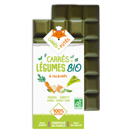 Vegetable Bar for Cooking Leek, Carrot Organic 75g