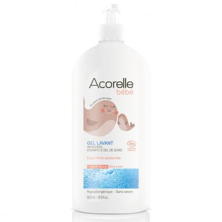 Acorelle - Relaxerende Wasgel Baby Bio - 400ml
