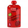 Set van 7 knijpzakjes Aardbeien + appels 4+ Bio