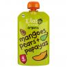 Lot de 7 Gourdes Mangue Poire Papaye 4+ Bio