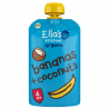 Set van 7 knijpzakjes Bananen + kokosnoten 4+ Bio