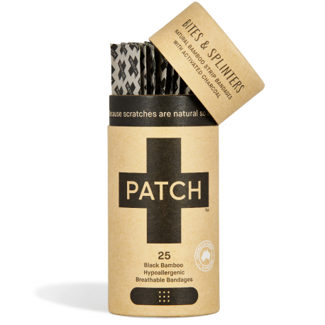 Pansement Patch Bambou Charbon 52g