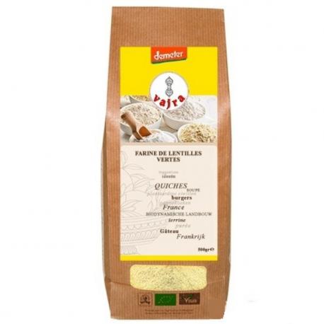 Farine de Lentilles Vertes Bio 500g