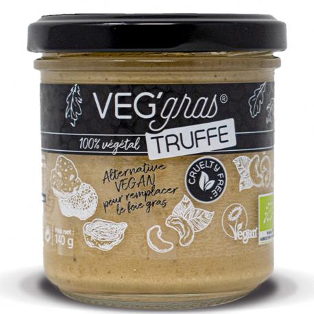Substitut au Foie Gras Veg'Gras Truffe Bio 140g