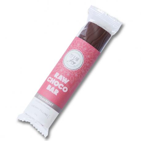 Barre Chocolat Fraise Bio 30g