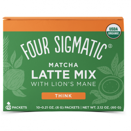 Mushroom Matcha Lion's Mane Ginger Organic
