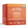 Mushroom Focus Shot Lion's Mane Organic