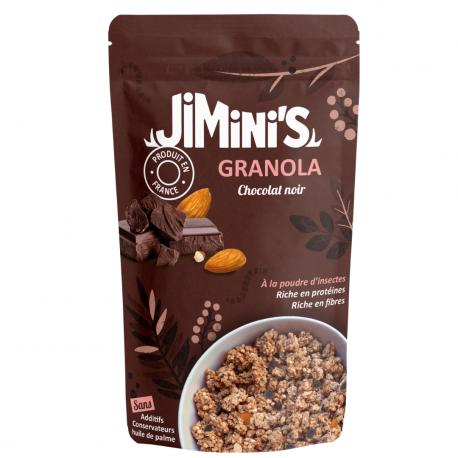 Granola Insecten Meel Donkere Chocolade