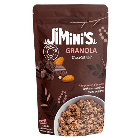 Insect Powder Granola Dark Chocolate