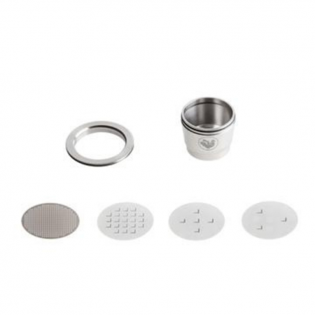 Capsule Réutilisable compatible Nespresso