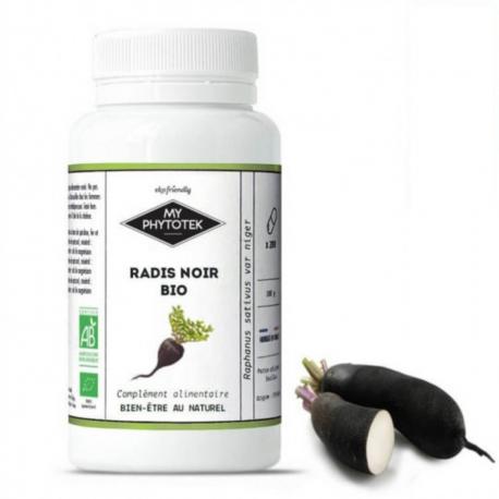 Radis Noir 90 gélules Bio