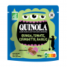 Quinoa Tomatoes Courgette Basil Organic