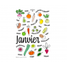 Seizoengebonden Groente- & Fruitkalender