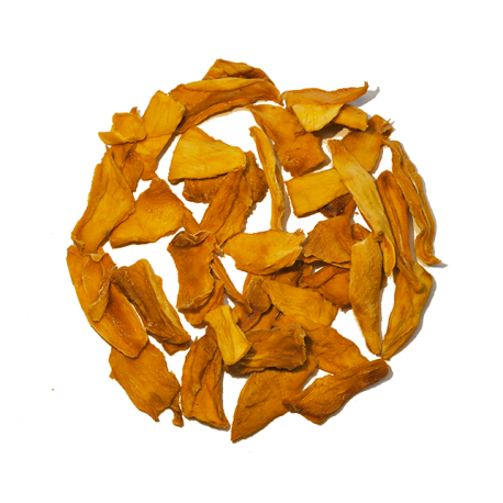 Gedroogde mango's 500g,Noten en zuidvruchten