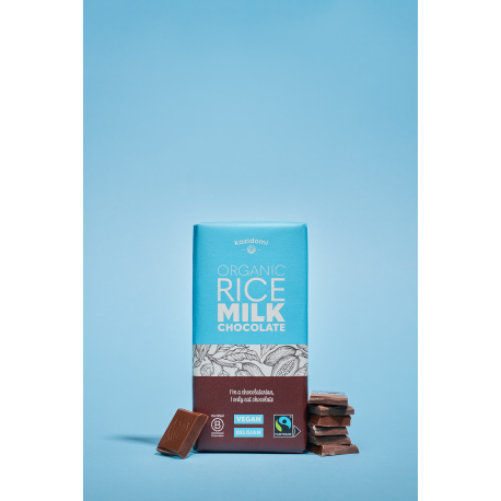 Chocolate Rice Syrup Vegan Fair Trade Organic