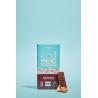 Chocolade Vegan Rijststroop Amandelen gezouten Karamel Fair Trade Bio