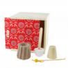 Coffret cadeau Zéro déchet Lamazuna (1 shampoing solide, 1 dentifrice solide, 1 déodorant solide, 1 oriculi)