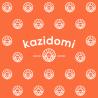 Kazishiki Emballage Cadeau Furoshiki Orange