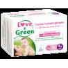 Love&Green - Couches hypoallergéniques T4+ (de 9 à 20 kg)