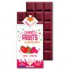 Fruitreep met aardbei & framboos