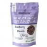 Raw granola met kokosnoot Bosbes Keto Bio
