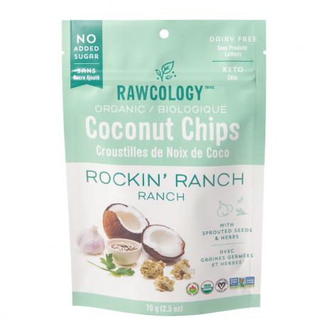Chips de Coco Rockin' Ranch Bio