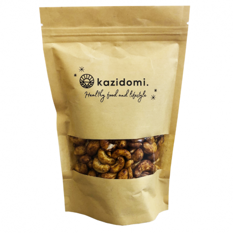 Roasted Cashew Nuts with Tamari Organic 250g