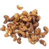 Cashewnoten met tamari & kurkuma in bulk Bio