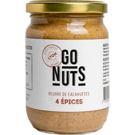 Go Nuts Beurre de cacahuètes 4 épices 500g