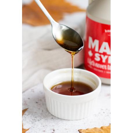 Rich Taste Amber Mayple Syrup Organic
