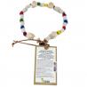 Ceramic Anti-tick Necklace X/L Coloured Dog
