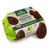 Doos met 6 amandelmelkchocolade eieren vegan Bio