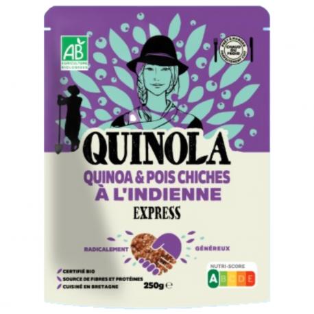 Quinola - Express-Indiase Quinoa met kikkererwten BIO 250g