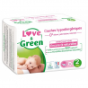 Pack Couches Hypoallergéniques Taille 2 (3-6 kg)