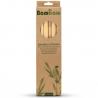 12 Pailles Bambou 14cm