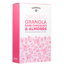 Granola Zwarte Chocolade & Amandelen Bio