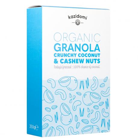 Granola Noix de Coco & Noix de Cajou Bio