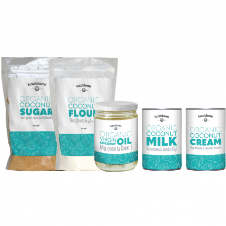 Discovery Pack Coconut products Organic