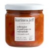 Eggplant and peppers in marmalade Organic