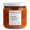 Aubergine et poivrons en marmelade Bio