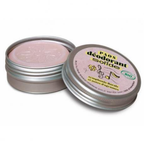Solid Deodorant Floral Symphony Citrus Organic
