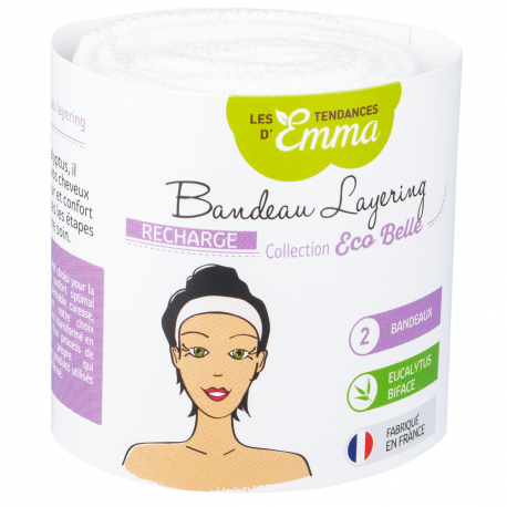 Les Tendances d'Emma - Eucalyptus Washable Headbands 2x