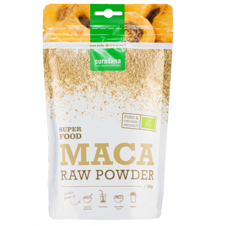 Purasana - maca powder 200g Bio