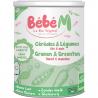Cereal & Vegetables + 6 months Organic