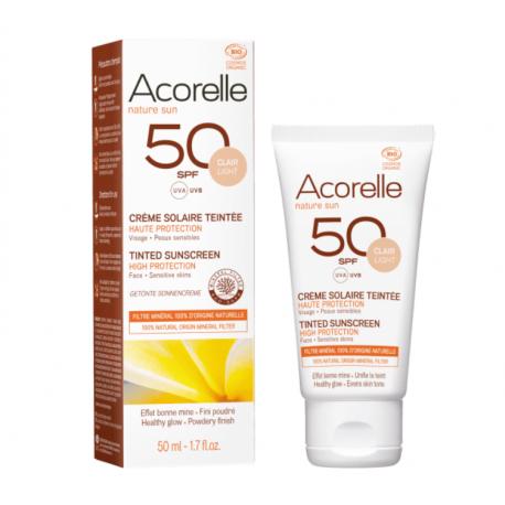 Acorelle - Getint Zonnecrème SPF 50 - 50ml