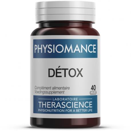 Detox (40 comprimés), Therascience, Compléments alimentaires