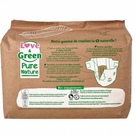 Pure Nature Diaper S2 (3-6 kg)