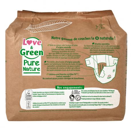 Couche Pure Nature T4 (7-14 kg)